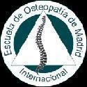 Logo escuela de osteopatia de Maddrid - Clinicas h3 fisioterapia Madrid