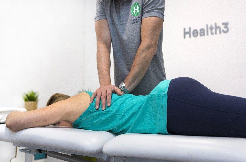 Dolor cervical tratamiento Clínicas H3 de fisioterapia en Madrid