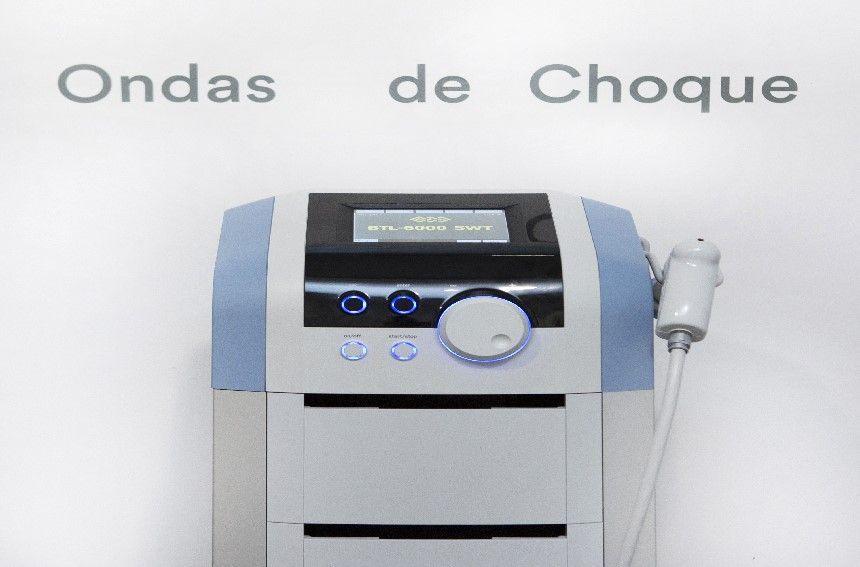 Ondas de choque tratamiento de fisioterapia en Clínicas H3 en Madrid