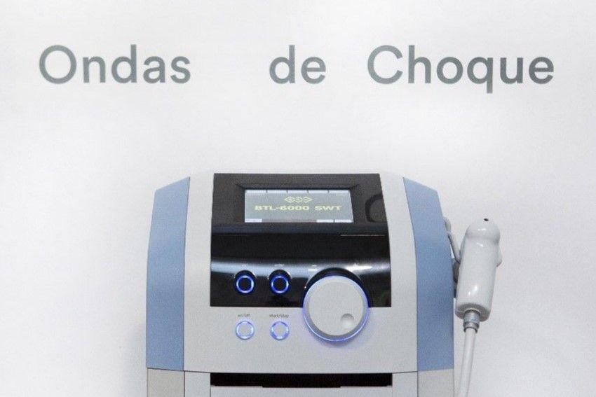Tratamiento ondas de choque Clínicas H3 fisioterapia Madrid