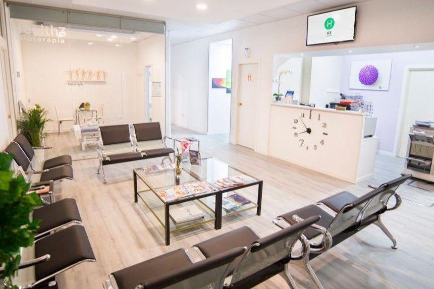 Recepción Clínicas fisioterapia Madrid - Sagrado Corazón