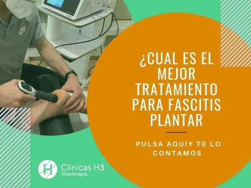 Mejor tratamiento para fascitis plantar con fisioteapia