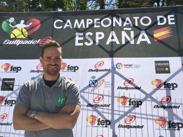 Campeonato España padel veteranos - Clínicas H3 fisioterapia Madrid