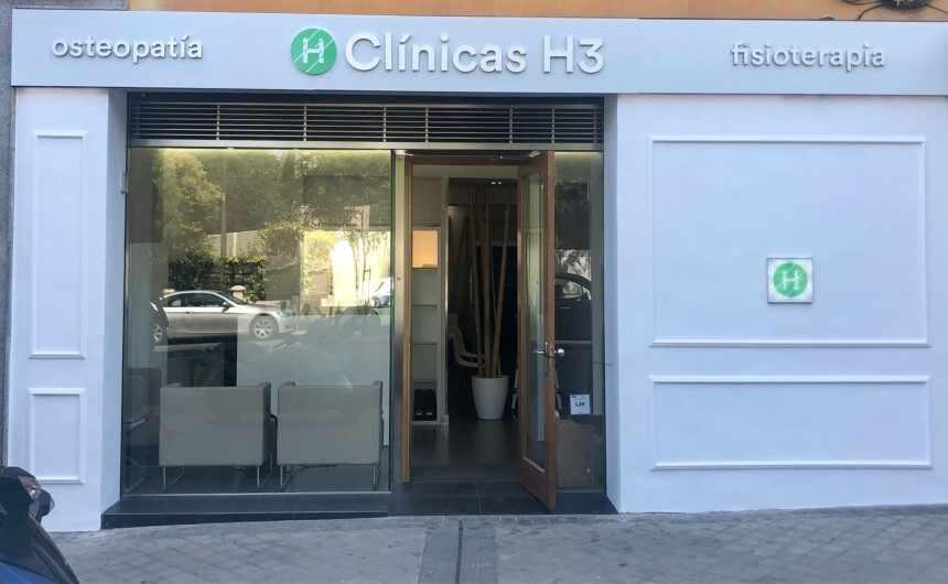 Fisioterapia en Madrid Clínicas H3 en plaza Perú