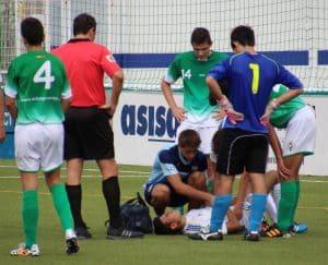 Ignacio calvo fisioterapeuta deportivo en club de fútbol