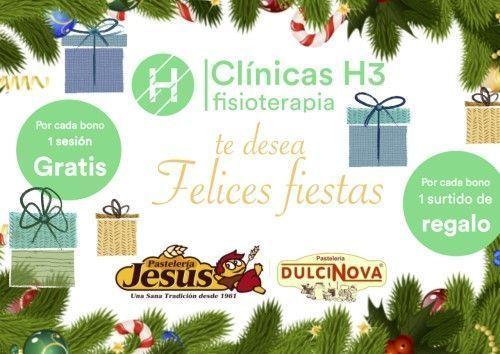 Felicitacion Navidad 2018 Clínicas H3 fisioterapia