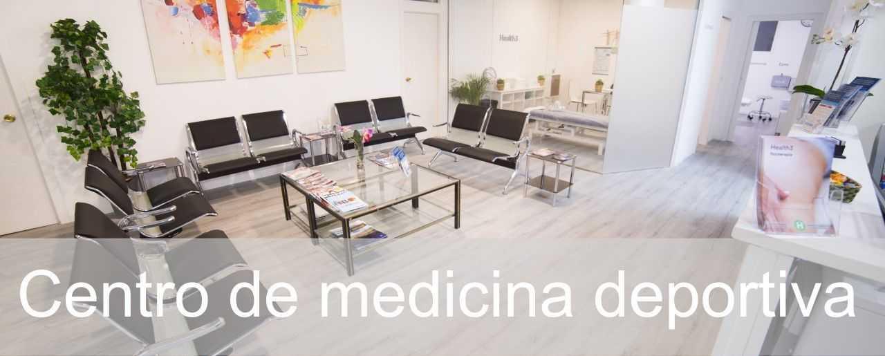 Centro de medicina deportiva Madrid - Clínicas H3 fisioterapia