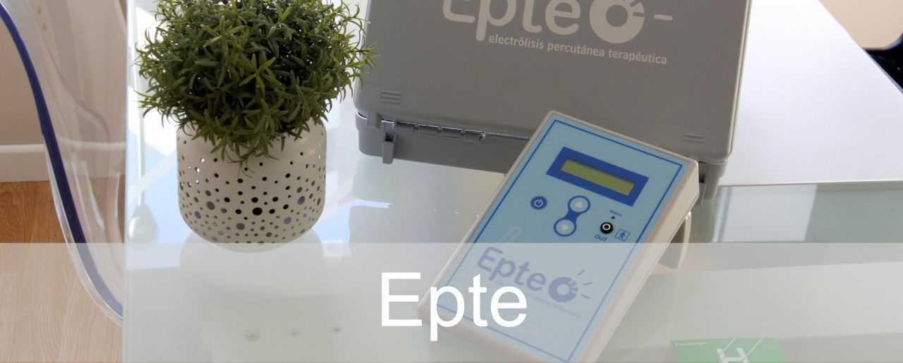 Epte Electrólisis percutánea terapéutica Clínicas H3 Madrid