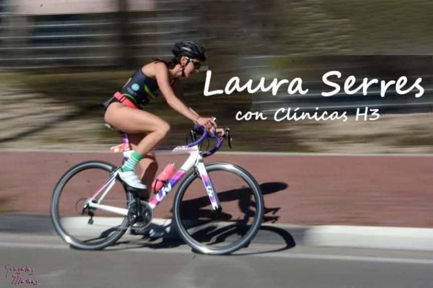 Laura Serres Duatlón running - Clínicas H3