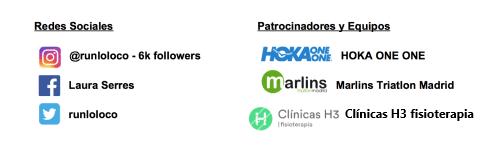 Patrocinadores Laura Serres - Clínicas H3 fisioterapia en Madrid