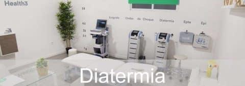Diatermia -Tratamiento corporal radiofrecuencia Indiba en Clínicas H3 en Madrid