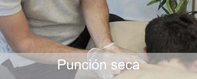 Punción seca en fisioterapia en Madrid