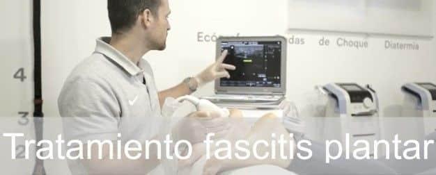 Tratamiento de la fascitis plantar con fisioterapia