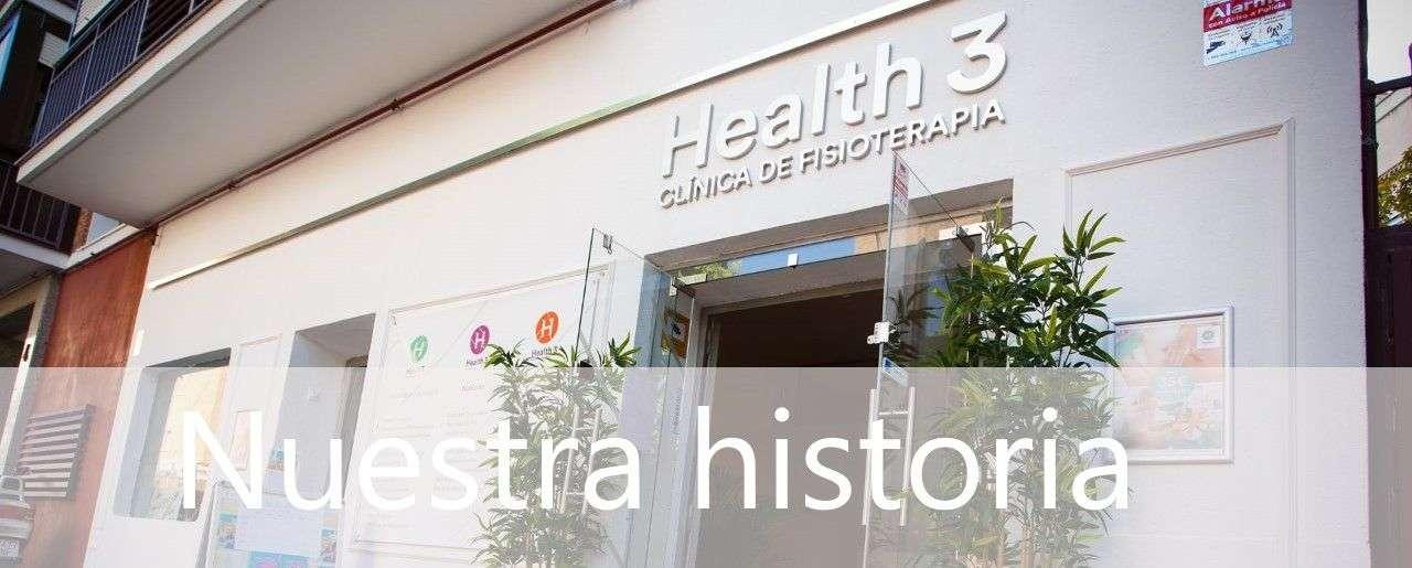 Clínicas H3 fisioterapia, nuestra historia