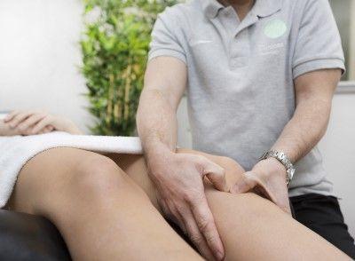 Fisioterapia para la enfermedad de Osgood Schlatter en adultos.