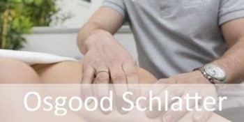 Tratamiento con fisioterapia de la enfermedad de Osgood Schlatter