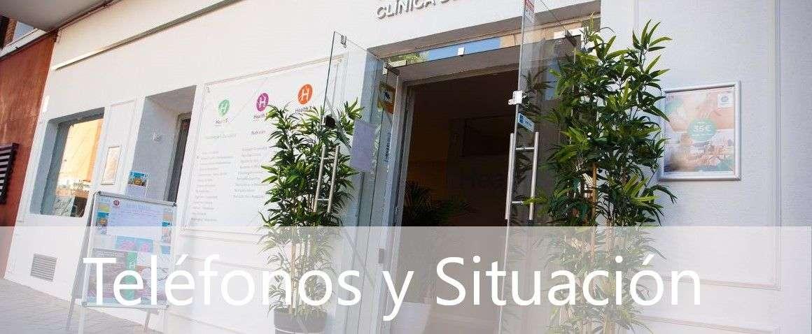 Teléfono y situación de Clínicas H3 en Madrid