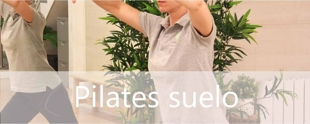 Clases de pilates suelo o mat en Madrid