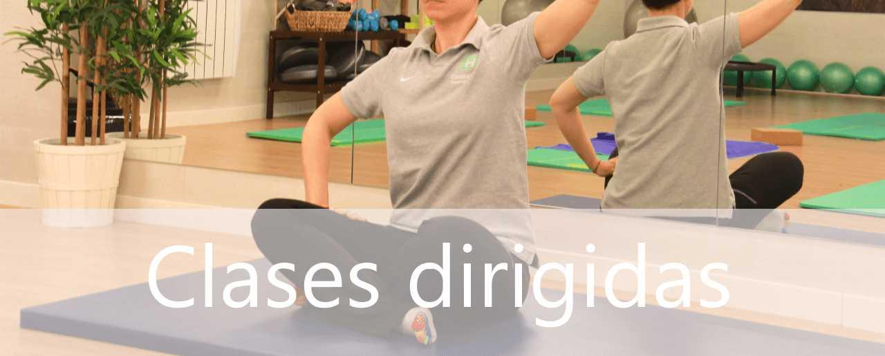 Centro de clases de yoga y pilates en en Madrid en Clínicas H3
