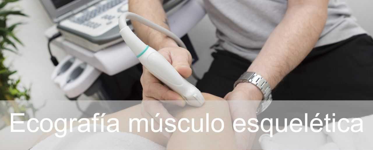 Ecografía musculoesquelética en fisioterapia Clínicas H3 Madrid