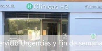 Fisioterapia de urgencias y fin de semana en Madrid