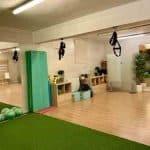 Sala de entrenamiento funcional en Clínicas H3 en Madrid
