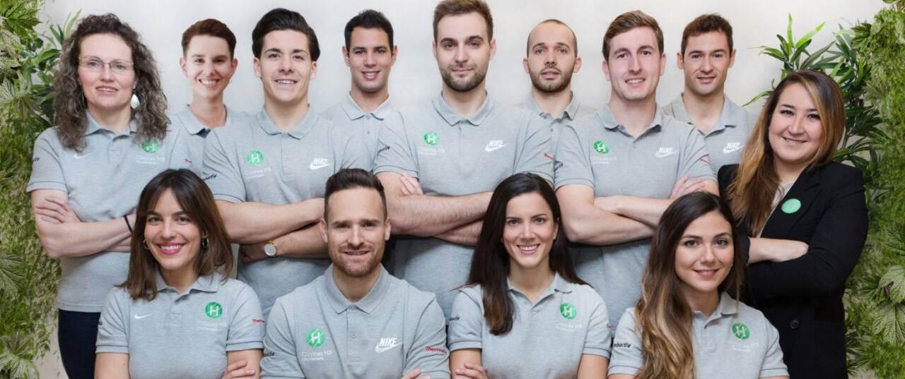 Mejores fisioterapeutas en Madrid - equipo Clínicas H3