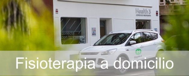 Area de fisioterapia a domicilio en Madrid en Clínicas H3