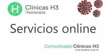 Servicios de fisioterapia en Madrid - Crisis Coronavirus