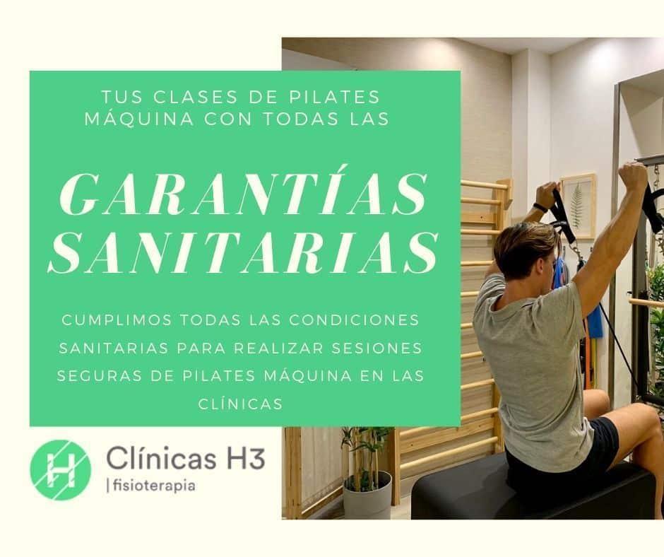 Clases de pilates máquinas en Madrid - Medidas sanitarias desescalada