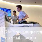 Alter G cinta de correr antigravedad en Madrid - Clínicas H3 fisioterapia