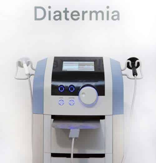 Equipo de Diatermia en fisioterapia. Radiofrecuencia en Madrid Precio