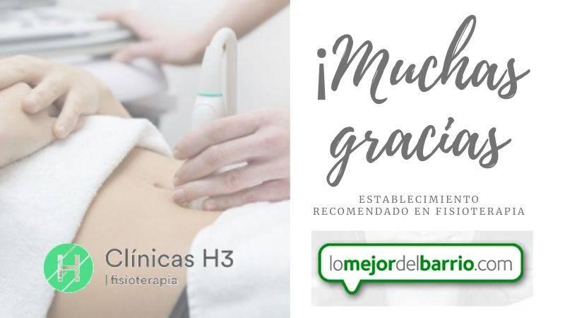 Clínicas H3 fisioterapia establecimiento recomendado en lomejordelbarrio.com