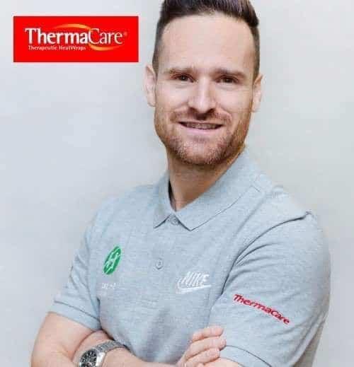 Thermacare patrocinador de clinicas h3 fisioterapia en MAdrid