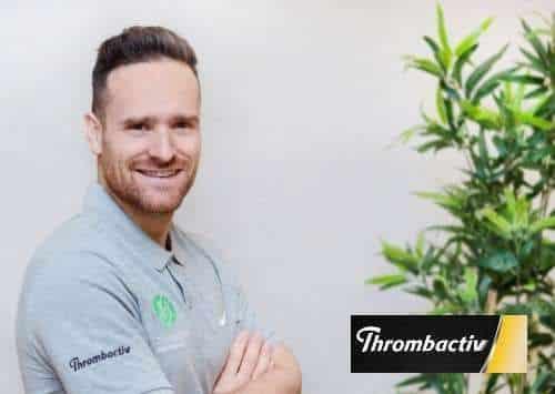 Tromboactiv gel para musculos despues de ejercicio físico intenso - Clinicas H3