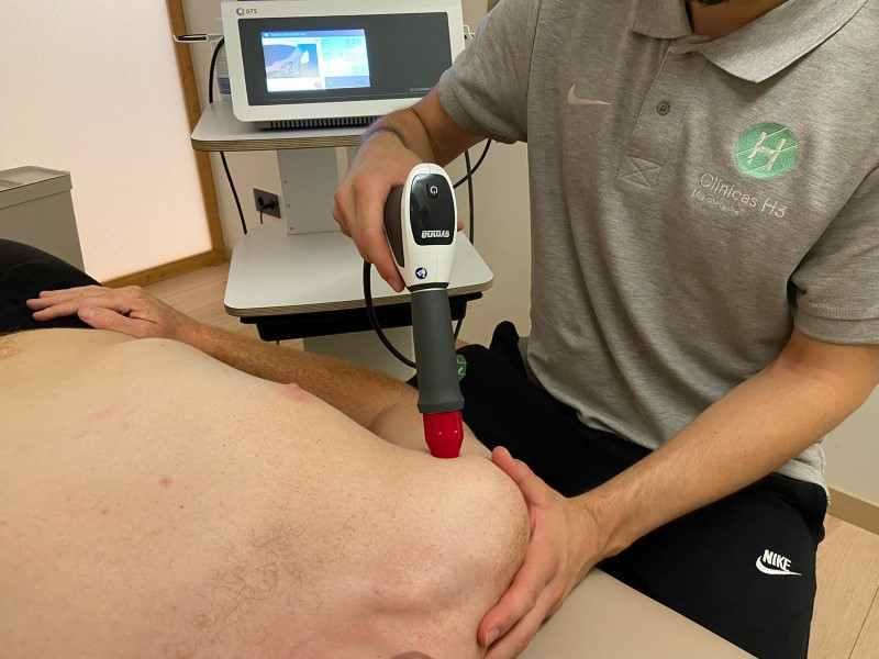 Ondas de choque madrid precio por sesión que puedes compatibilizar con tu bono de fisioterapia de 1 hora
