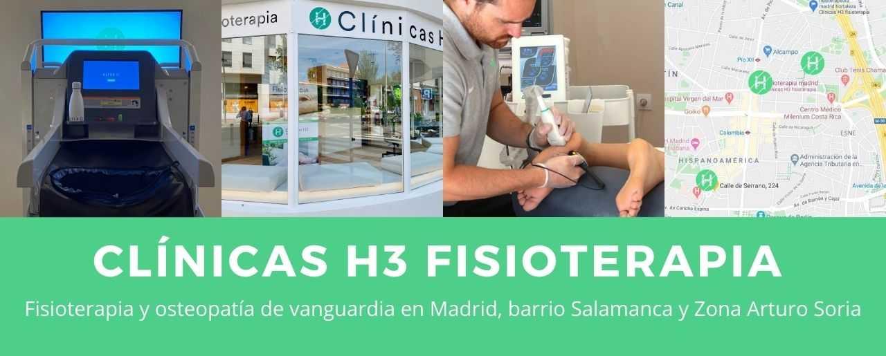 Fisioterapia en Madrid en Barrio Salamanca y zona de Retiro