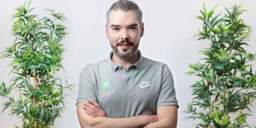 Alberto Díaz podólogo en Clínicas H3 Madrid
