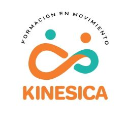 Logotipo kinesica con clínicas h3 fisioterapia Madrid