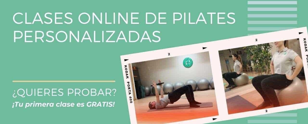 Clases de pilates online. Las mejores clases de pilates