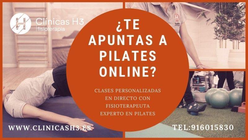 clases online de pilates gratis en Clínicas H3 Madrid