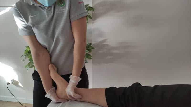 Como curar esguince de tobillo grado 1. Valoración fisioterapia