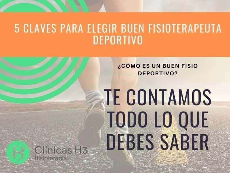 Fisioterapeuta deportivo Madrid Fisio deportivo Madrid