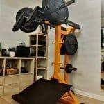Máquina de sentadillas para entrenamiento funcional en Madrid Clínicas H3