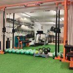 Poleas para ejercicios de rehabilitación deportiva Madrid Clínicas H3