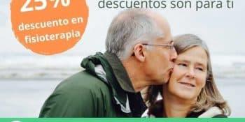 25% descuento bonos fisioterapia para jubilados - Clínicas H3