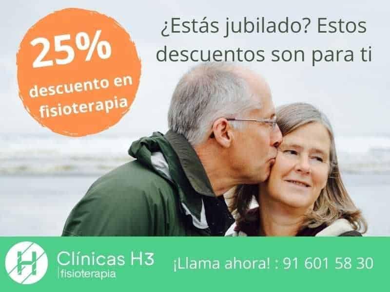 Clinica fisioterapia madrid Bonos fisioterapia Madrid. Descuentos para jubilados.