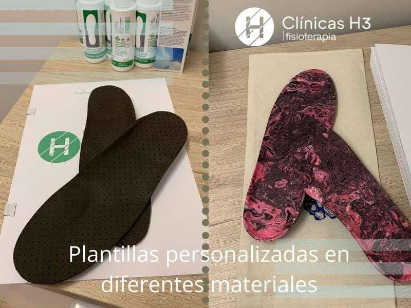 Plantillas ortopedicas podología madrid - Clinicas H3