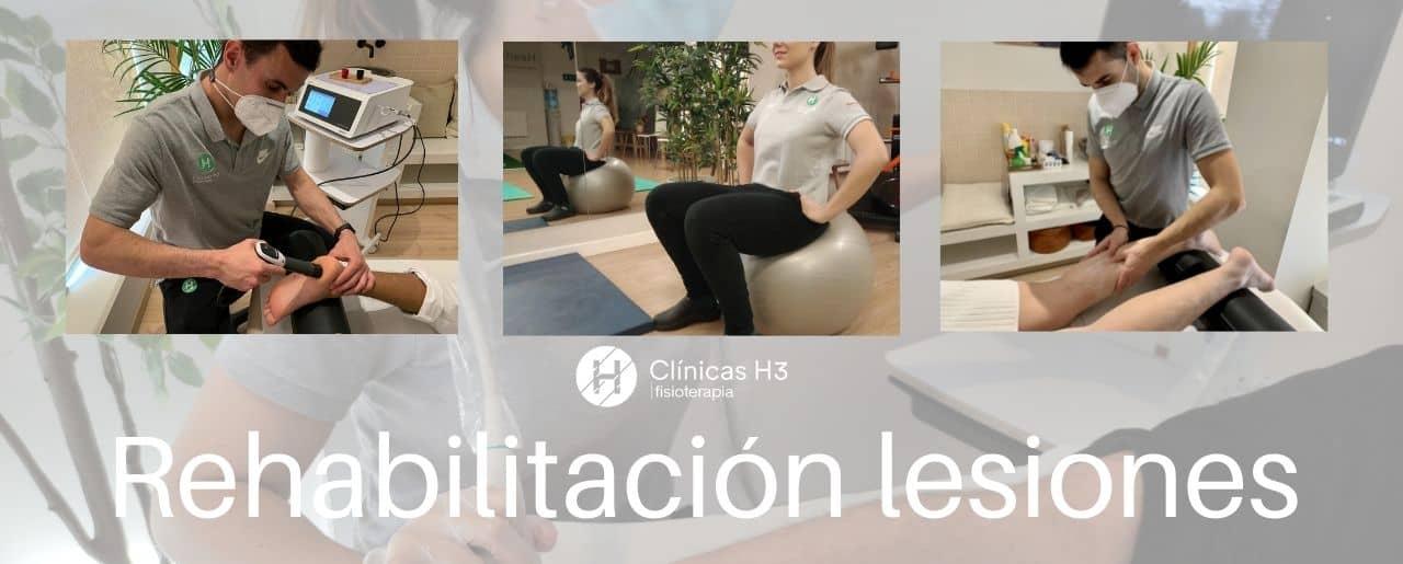 Fisioterapia Madrid. Fisioterapeuta madrid. Clínicas H3 MAdrid