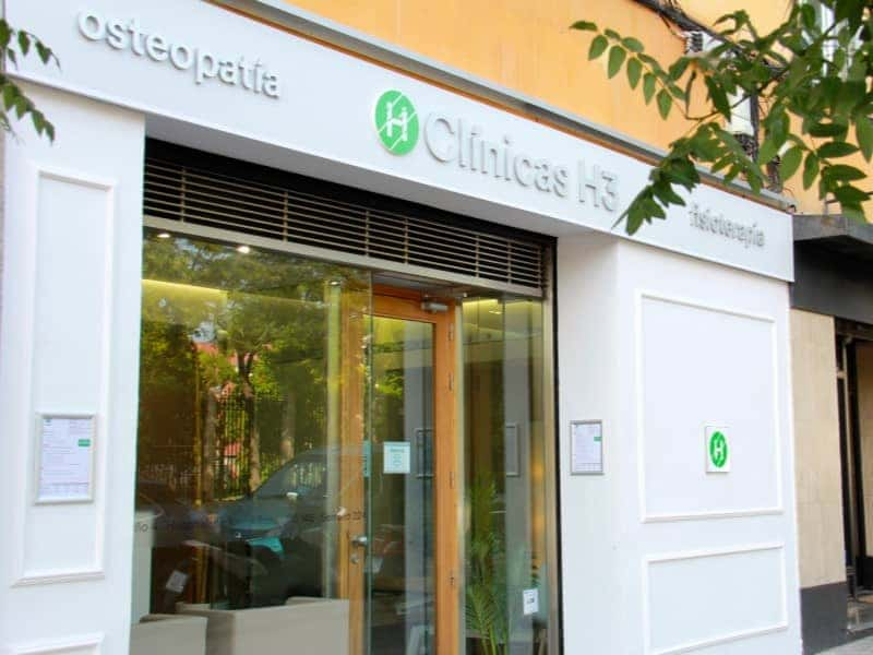 Clínicas H3 fisioterapia Madrid en Calle Alfonso XIII. Fisioterapia barrio salamanca y arturo Soria.